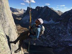 Rock Climbing Photo: Rap on Wolf's Head