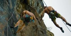 Rock Climbing Photo: Hanging out with my boy Andrew Dowd