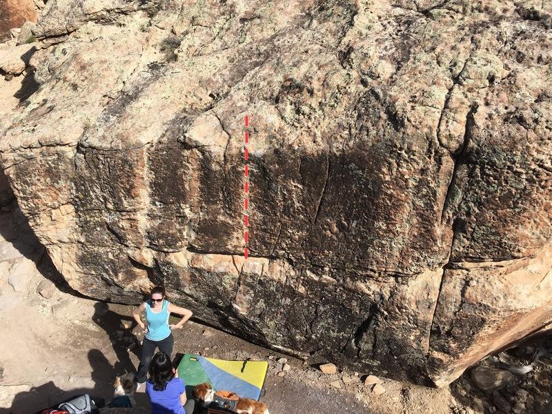 Rock Climbing Photo: Beta for Princeton Powertrip.