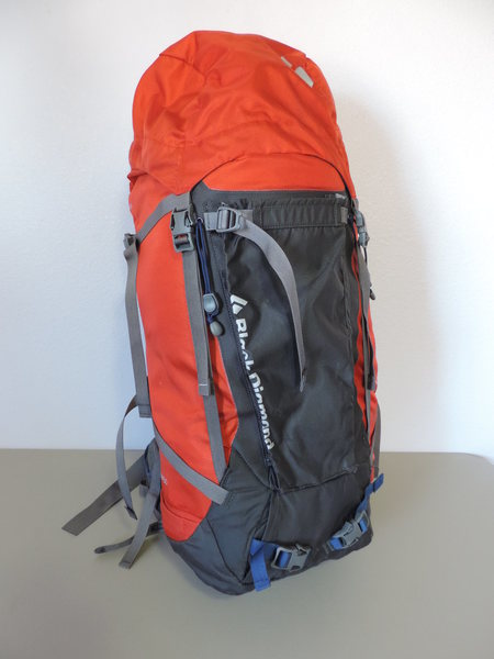 BD Mission 50. Great ice, climbing/alpine pack. Big enough for multi-day objectives. $70.