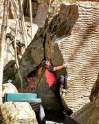 Rock Climbing Photo: Anthony on his second send, photo credit to Jack C...