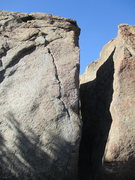 Rock Climbing Photo: I think this is a great 2nd warm-up after Hornet's...