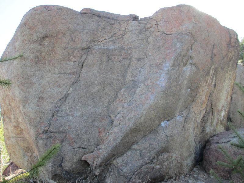 Rock Climbing Photo: Baby James and Man Up.