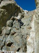 Rock Climbing Photo: The start, up Laurel Mt.