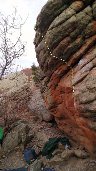 Rock Climbing Photo: The South.
