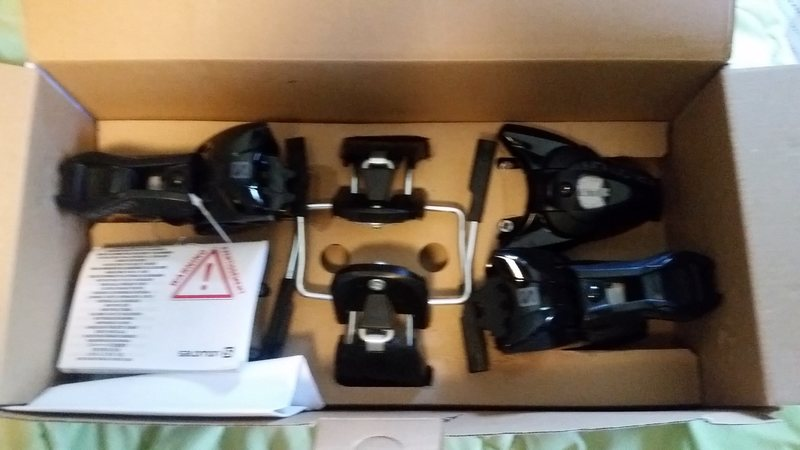 Salomon STH 10 bindings still in box