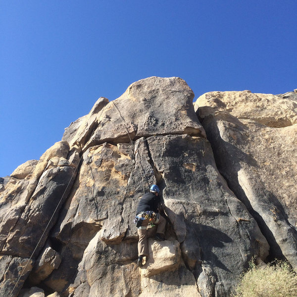 Rock Climbing Photo: Slow Moving Australian Sandwich left, and Luis on ...