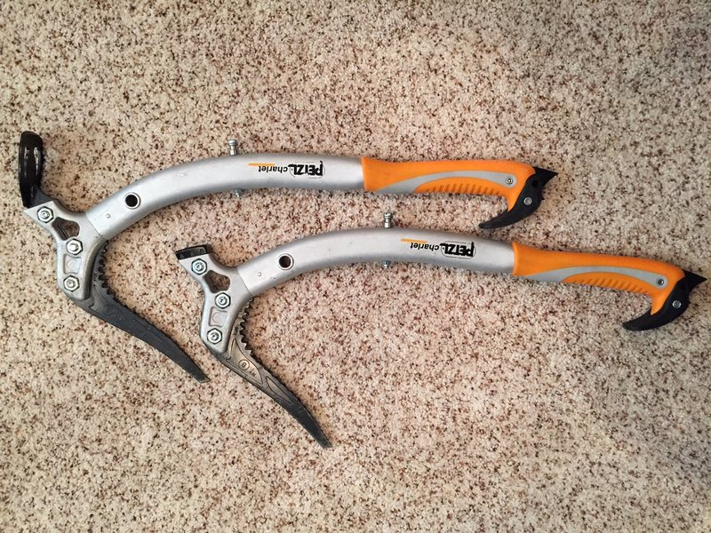 Petzl Quarks w/Leashes