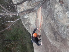 Rock Climbing Photo: P-2 glory corner
