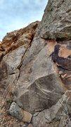 Rock Climbing Photo: Fairly obvious chunk of rock.