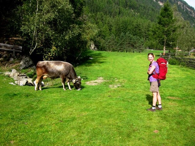 Friendly locals at Oberried