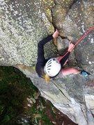 Rock Climbing Photo: Nearing the top of Bimba