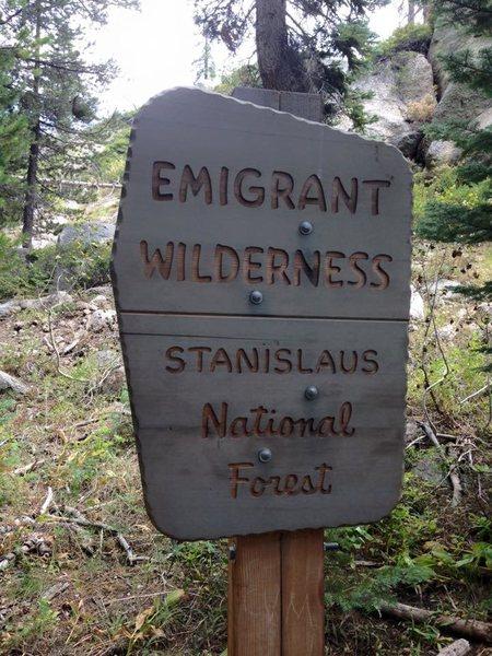 Emigrant Wilderness