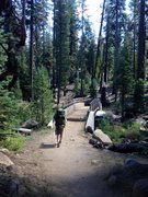 Rock Climbing Photo: Hiking in