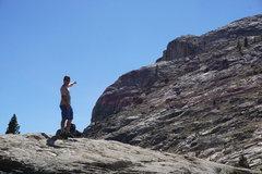 Rock Climbing Photo: I think we found something