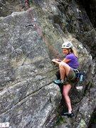 Rock Climbing Photo: Starting up Djure
