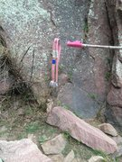 Rock Climbing Photo: Another day keeping Eldo clean!