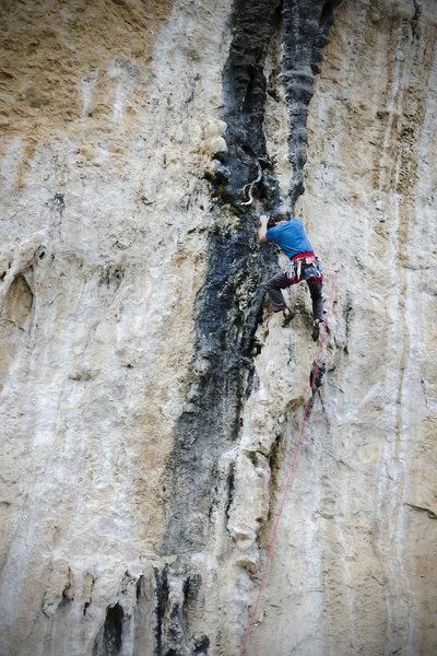 Rock Climbing Photo: Big Tufas