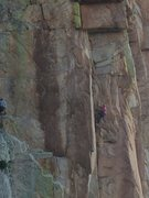 Rock Climbing Photo: EFR makes it look easy