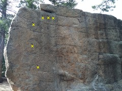 Rock Climbing Photo: Chipped route.