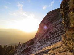 Rock Climbing Photo: High Eagle Sunrise