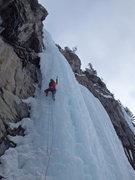 Rock Climbing Photo: Jon Jugenheimer on Carlsburg Column.