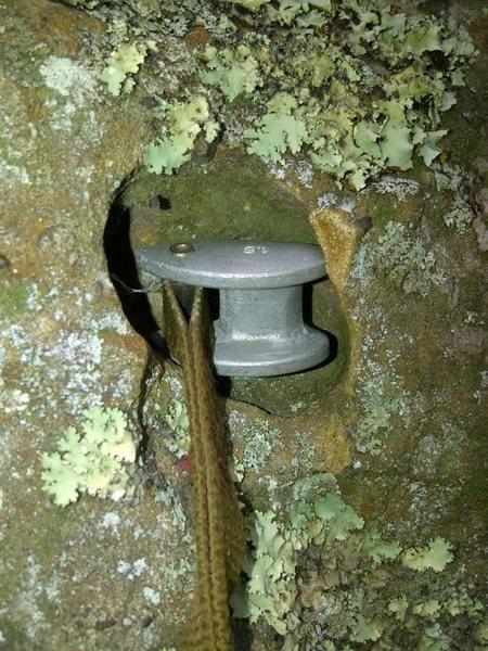 Rock Climbing Photo: Glad I had a Tricam