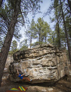 Rock Climbing Photo: Super fun warm-ups.
