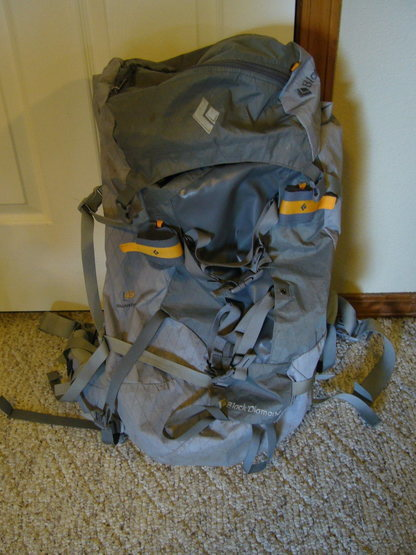 BD Quantum 45L backpack. Size large. Used $65