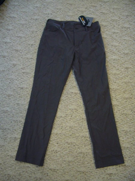 Black Diamond: Creek Pants. New Mens 32&quot; Slate. $40<br> <br> SOLD