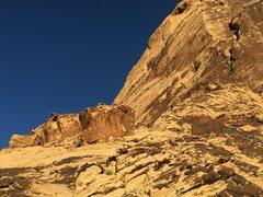 Rock Climbing Photo: eagle wall