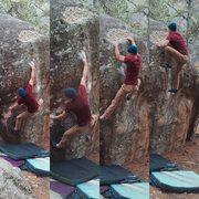 Rock Climbing Photo: John Andersen on The Duchess