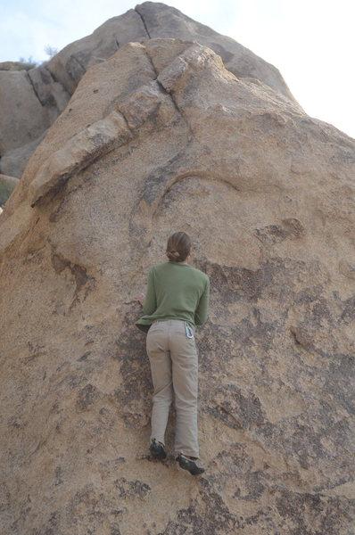 Rock Climbing Photo: Emily Worby sending half penny