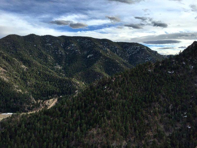 It was a gorgeous day at Oak Creek Canyon!