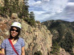 My first multipitch climb! Oak Creek Canyon 03/13/16
