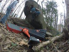 Rock Climbing Photo: Fun problem!