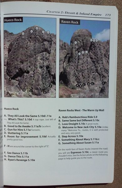 Rock Climbing Photo: Tom Slater Guidebook, Raven Rock West