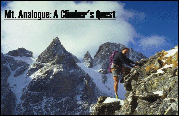 Rock Climbing Photo: Arthur on Mount Analogue