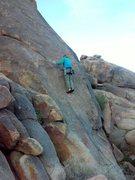 Rock Climbing Photo: Joe on Pimento (5.6), Margheritaville