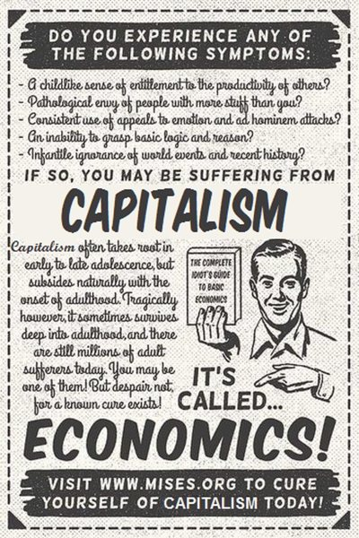 Rock Climbing Photo: Capitalism according to a Socialist.