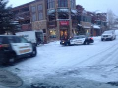 The Scene Outside 123Mountain in Frisco, Colorado This Evening - KARMA