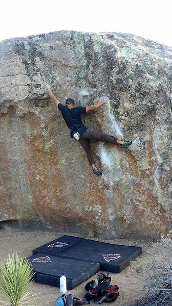 Rock Climbing Photo: Fry problem