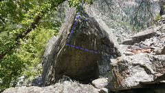 Rock Climbing Photo: Starfish climbs way better than it looks... promis...
