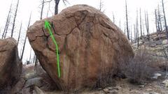 Rock Climbing Photo: Wang Tongue Left.