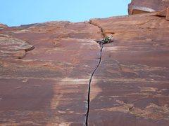 Rock Climbing Photo: Excuse Station, Indian Creek, UT