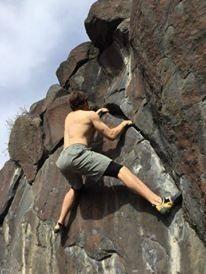 Rock Climbing Photo: Dakotah on Elephant Ear V2