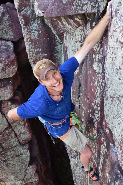 Rock Climbing Photo: Thoroughfare