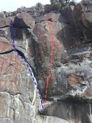 Rock Climbing Photo: Elephant Ear and Bullrider
