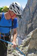 Rock Climbing Photo: Rapping into Gunsight Notch
