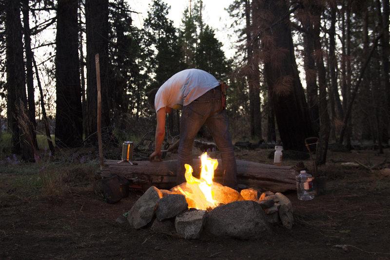 Gotta light the fire